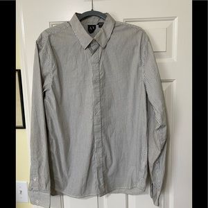 Armani Exchange designer dress shirt XL
